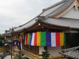 愛西市稲葉町西光寺・新築本堂寺院の写真