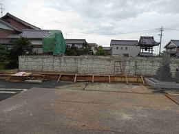 愛西市稲葉町西光寺本堂新築工事写真