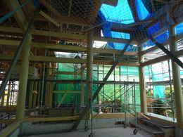 愛西市西光寺本堂の作り方