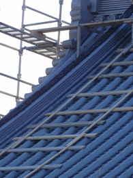 寺院仏閣の建て方・寺院仏閣の本堂新築・修復工事写真