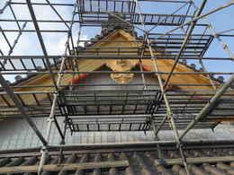 愛西市西光寺本堂新築工事写真