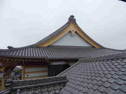 日本伝統仏教建築・寺院仏閣の本堂新築・修復工事写真