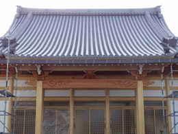 愛西市西光寺本堂の建築方法