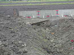 愛西市西光寺の東側大駐車場工事写真・仏教寺院建築について・本堂・鐘楼堂・鐘つき堂