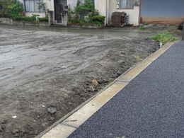 愛西市西光寺の東側大駐車場工事写真・愛西市西光寺本堂の建築方法